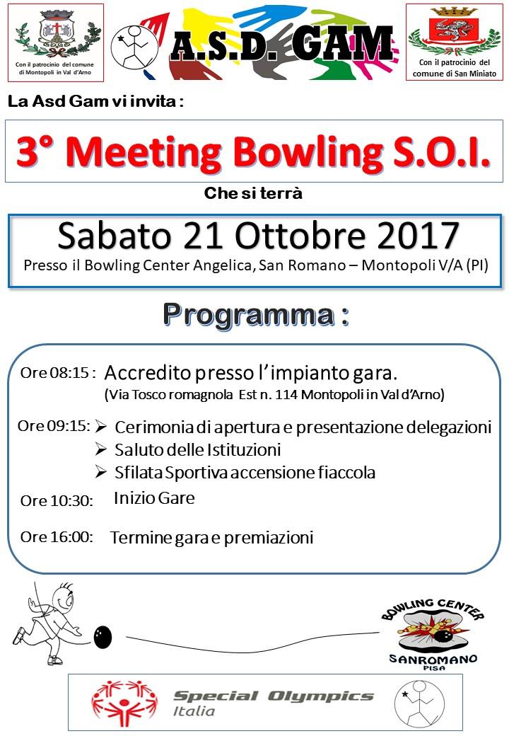 3° Meeting Bowling S.O.I.